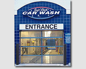 Safe Cloch CAR WASH ENTRANCE