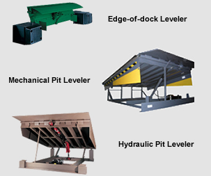 Edge-of-dock Leveler Mechanical Pit Leveler Hydraulic Pit Leveler